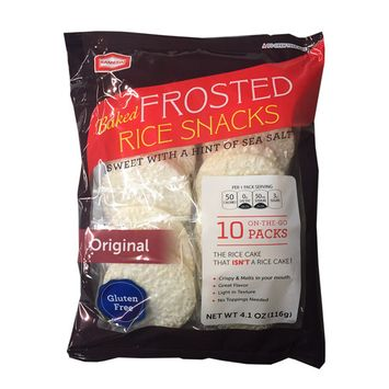 Baked Frosted Rice Snacks Gluten Free 4.1 oz per Pack (2 Pack)