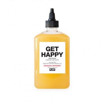 Bkdk, Llc Plant Get Happy Body Wash - Geranium & Peppermint - 9.5 oz