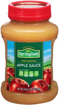 Springfield® Tree Ripened Apple Sauce