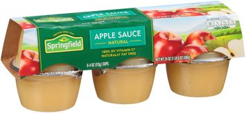 Springfield® Natural Apple Sauce