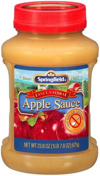 Springfield® Fancy Natural No Sugar Added Apple Sauce