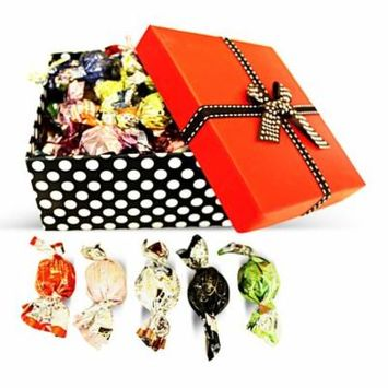 Dulcefina, Classico Misto Italian Chocolate Truffles Red Top Box w/Bow (1 pcs)