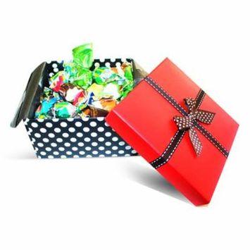 Dulcefina, Valentine Ultima Misto Italian Fantacy Chocolate Truffles Red Top Box w/Bow (1 pcs)