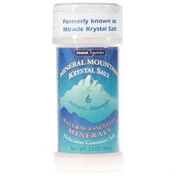 Klamath Blue Green Algae, Mineral Mountain Krystal Salt 3.5 oz