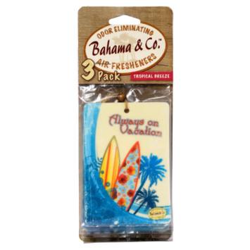 Bahama & Co. Tropical Breeze Air Fresheners - 3-Pack