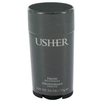 Usher for Men by Usher Men's Fresh Deodorant Stick 2.6 oz - 100% Authentic