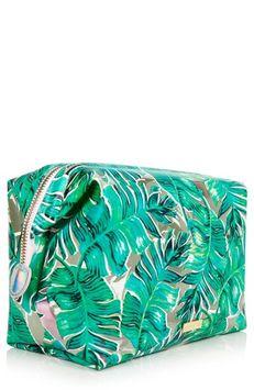 Skinnydip Antigua Make Up Bag, Green