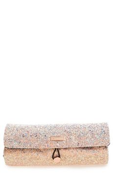 Skinnydip Skinny Dip Ditsy Glitter Makeup Roll, Size One Size - No Color