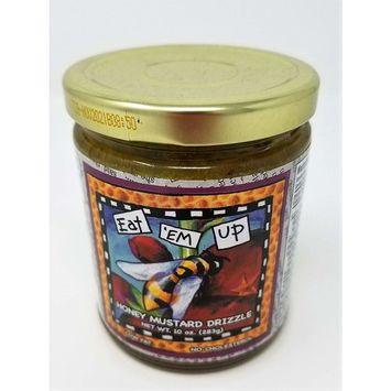 Gullah Gourmet - Honey Mustard Drizzle - Eat em' up - 10 OZ Jar