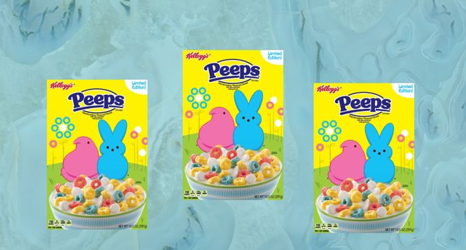 Would You Try Peeps Cereal?
