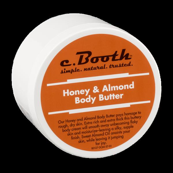 C. Booth Honey & Almond Body Butter