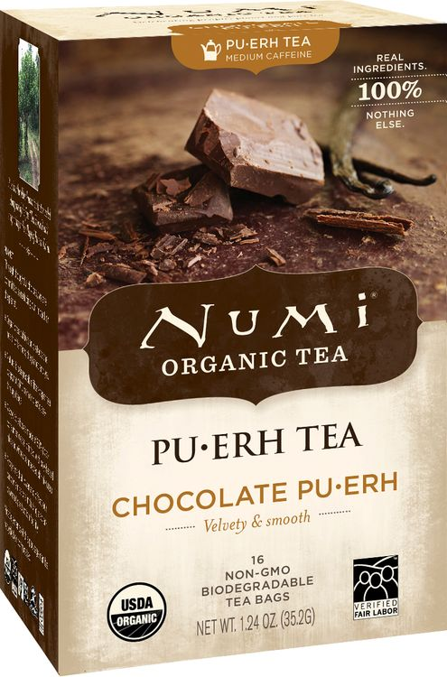 Numi Organic Tea Chocolate Pu-erh