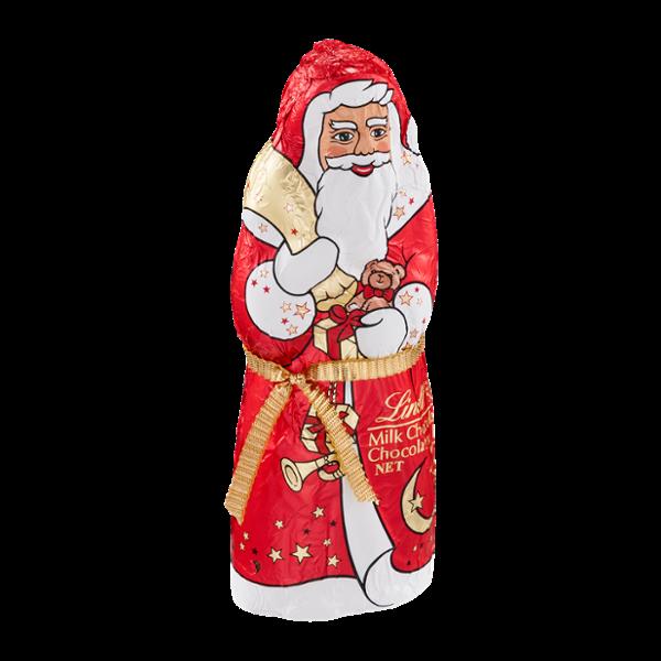 Lindt Milk Chocolate Santa