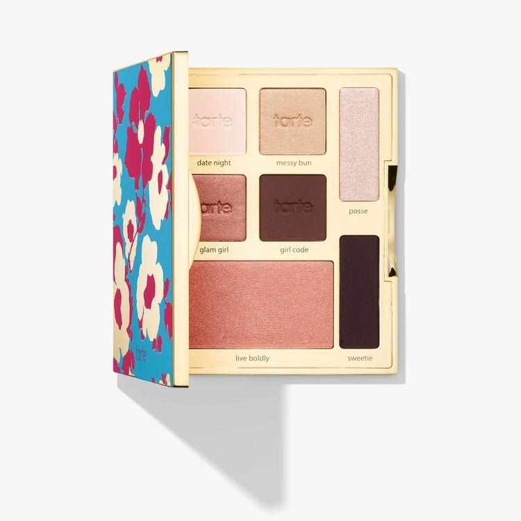 tarte™ happy girls shine brighter eye & cheek palette