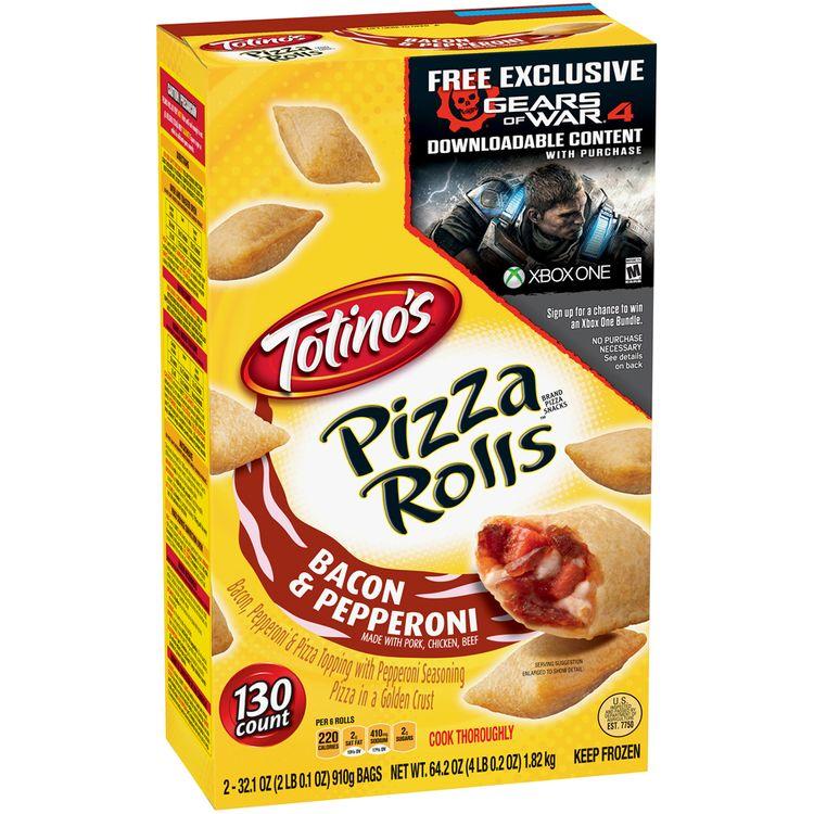 Totino's™ Bacon & Pepperoni Pizza Rolls™ 130 ct Box