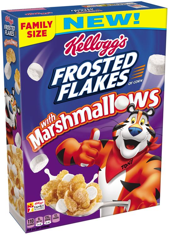 Kellogg's Frosted Flakes® with Marshmallows Cereal