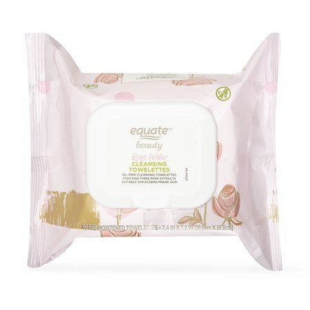 equate beauty™ Rose Water Cleansing Towelettes