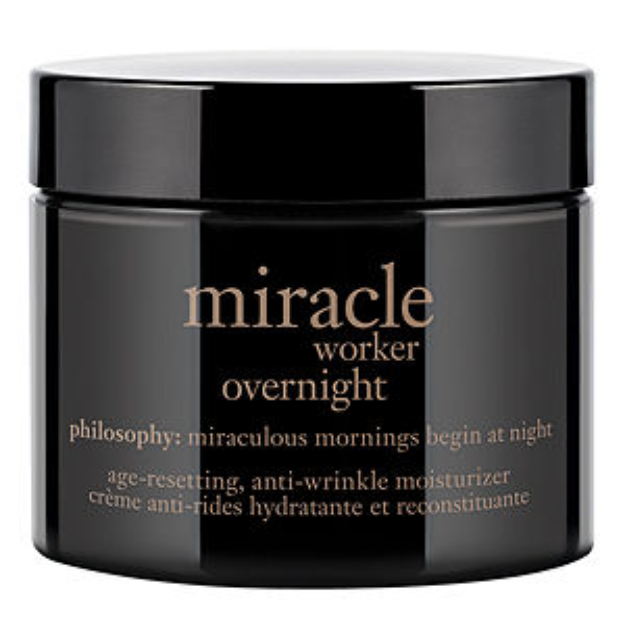 philosophy miracle worker overnight age-resetting, anti-wrinkle moisturizer, 2 oz