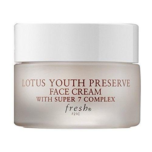 Fresh Lotus Youth Preserve Face Cream With Super 7 Complex 0.24oz/7ml NIB