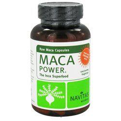 Navitas Naturals - Maca Power 500 mg. - 100 Vegetarian Capsules