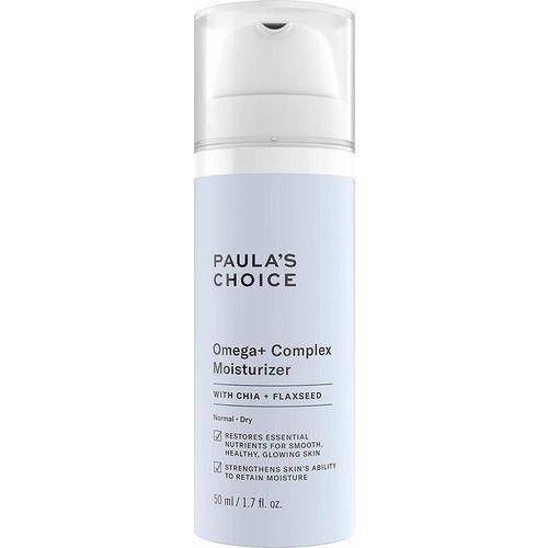 Paula's Choice Omega+ Complex Lightweight Face Moisturizer, With Nourishing Shea Butter & Plant Oils, Replenishing Ceramides & Soothing Antioxidants, Brightening Vitamin C - For Dry & Sensitive Skin