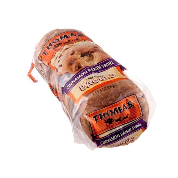 Thomas' Cinnamon Raisin Swirl Bagels - 6 CT