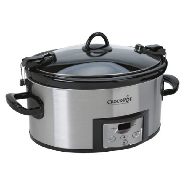 Crock-Pot Cook & Carry Programmable Slow Cooker - Stainless Steel