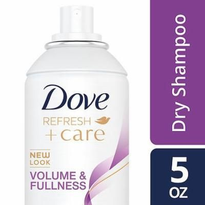 Dove Refresh + Care Dry Shampoo Volume & Fullness 5.0 oz(pack of 3)