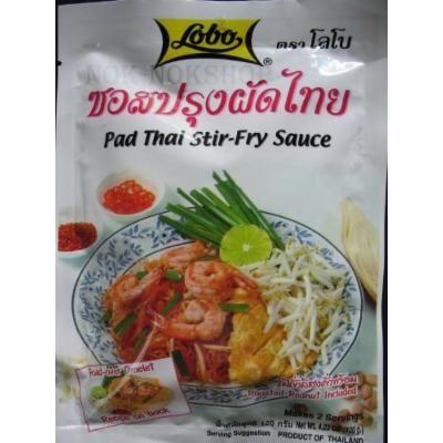 NEW Lobo Pad Thai Stir-fry Sauce Thai Food 120 G. Made in Thailand