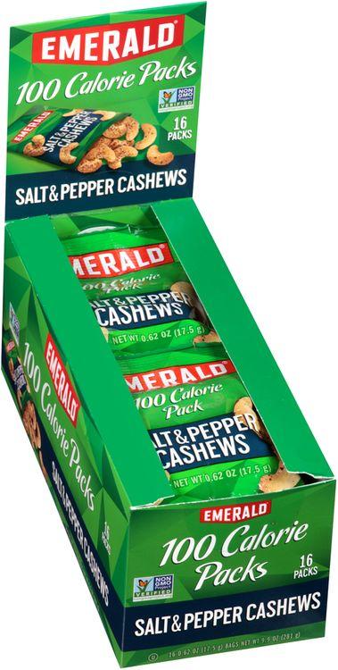Emerald® Salt & Pepper Cashews 100 Calorie
