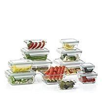 Member's Mark 24-Piece Glass Food Storage Set