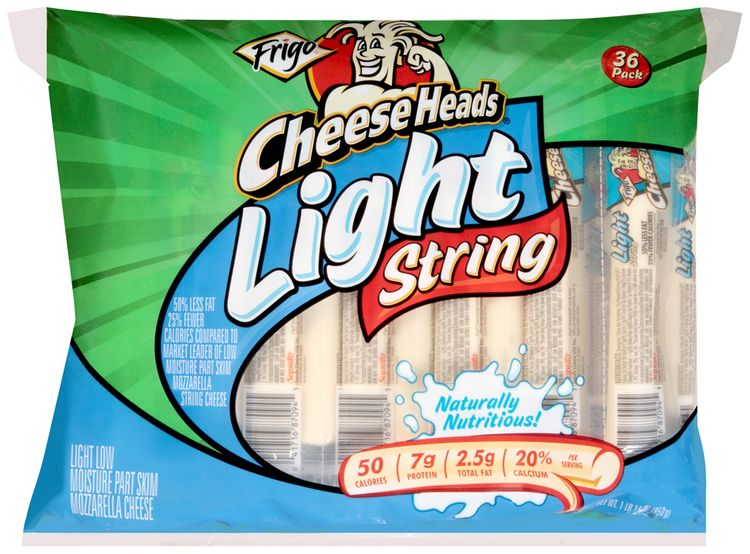 Frigo® Cheese Heads® Light String Cheese 36 ct Bag