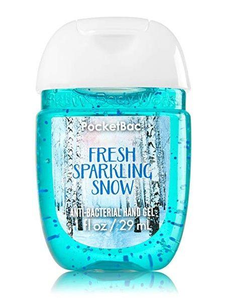 Bath & Body Works® PocketBac Fresh Sparkling Snow Hand Gel