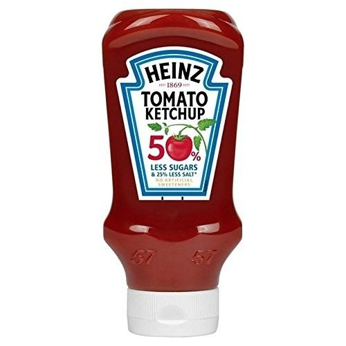 Heinz Tomato Ketchup Reduced Sugars & Salt