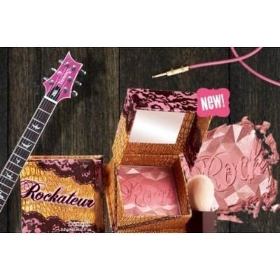 New 2013 Benefit Rockateur Blush Famously Provocative Cheek Powder