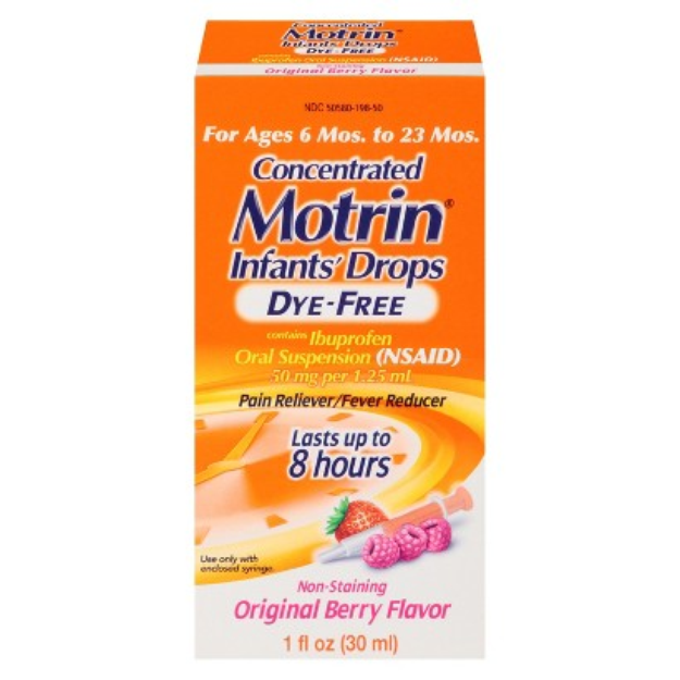Infants' Motrin Ibuprofen Oral Suspension