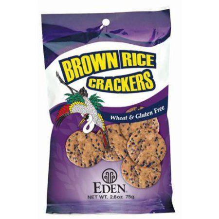 Eden Organic EDEN Brown Rice Crackers, 2.6 Ounce (Pack of 10)