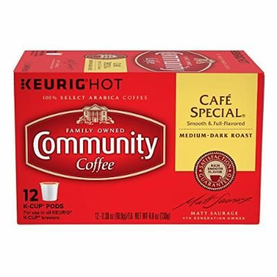 Community Coffee Cafe Special Single-Serve Cups 12 Count