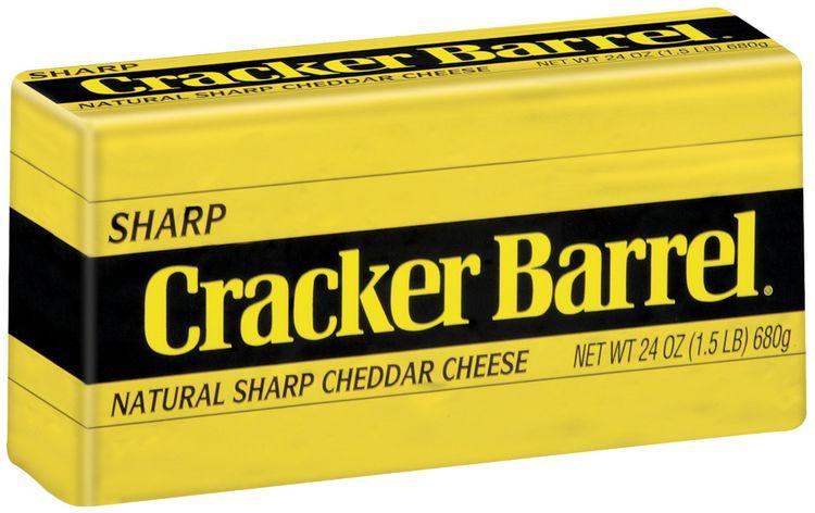 Kraft Cracker Barrel Natural Sharp Cheddar (West Coast Only) Cheese