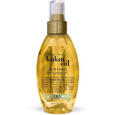 OGX® Kukui Oil Anti-Frizz Hydrating Oil
