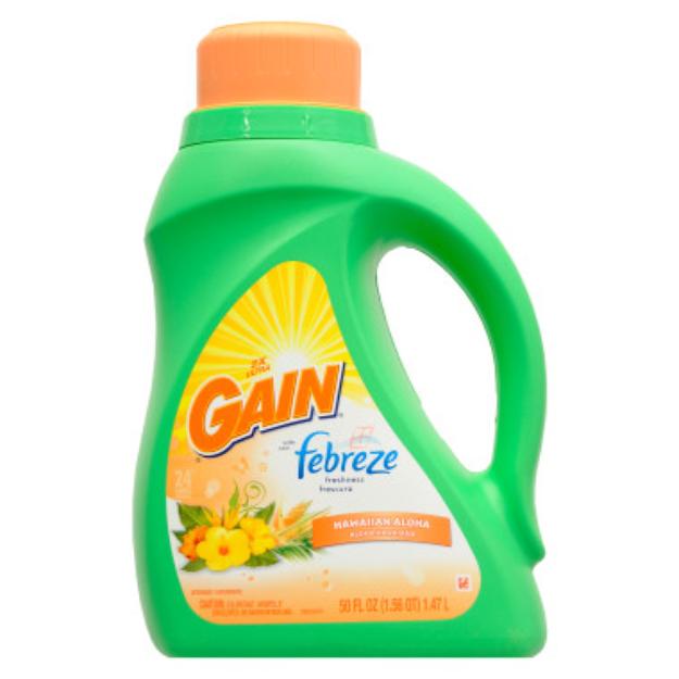 Gain Liquid Detergent with Febreze - Sunflower and Sunshine, 50 oz