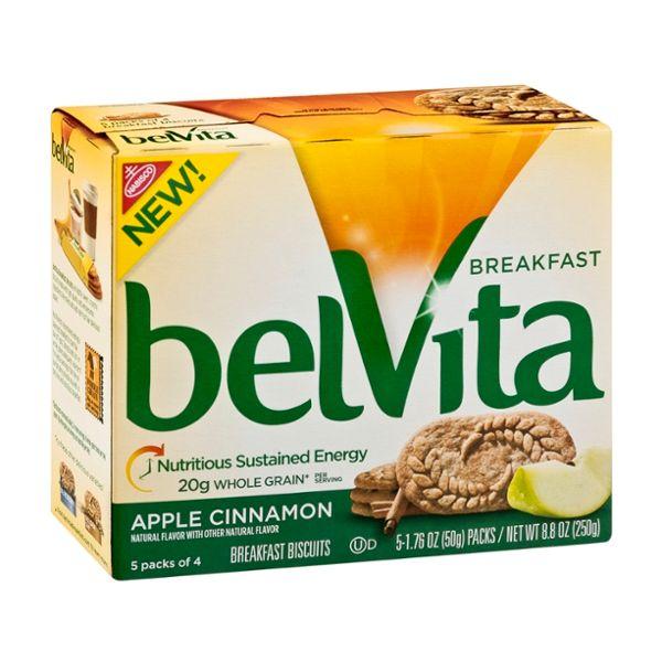 Nabisco belvita Breakfast Biscuits Apple Cinnamon