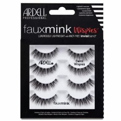 (3 Pack) ARDELL Faux Mink Wispies 4 Pack - Demi Wispies