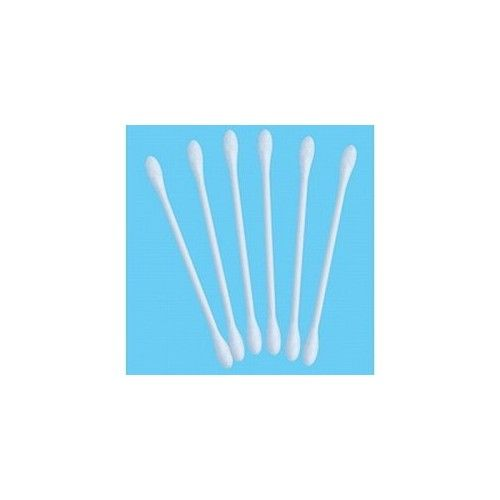 Cotton Swabs * 100% Cotton Tips * Soft & Natural * 500 Swabs Per Box