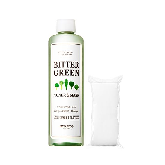 Skinfood - Bitter Green Toner and Mask 300ml