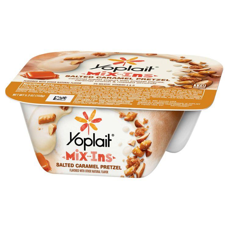 Yoplait® Salted Caramel Pretzel Mix-ins Yogurt