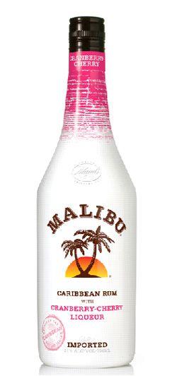 Malibu Rum Cranberry Cherry
