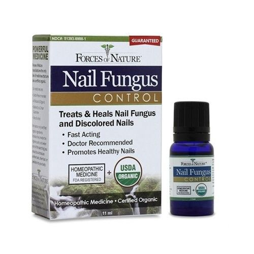 Forces of Nature   Nail Fungus Control   Certified Organic   FDA-registered   Pharmaceutical Strength   11ml (Pack of 1)