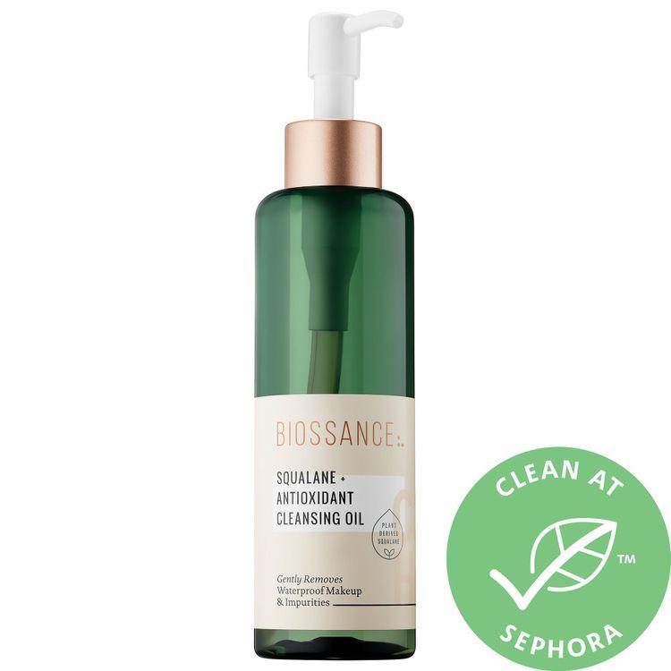 Biossance Squalane + Antioxidant Cleansing Oil 6.8 oz/ 200 mL