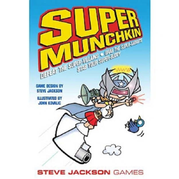 Munchkin Super Card Game Ages 10 and up, 1 ea
